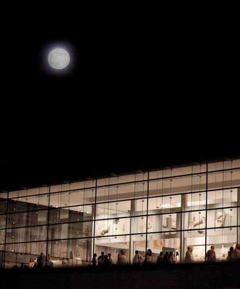 acropolis museum august full moon portrait