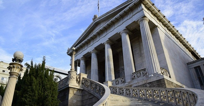 national library of greece neoclassical building8