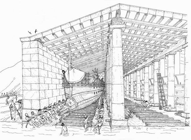 ship shed drawing