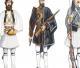 La divisa degli euzoni, la fustanella, racconta la sua storia in una mostra allestita in occasione della Festa nazionale greca